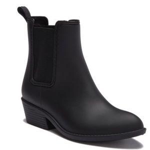 Black Jeffery Campbell Rain Boots Havana Last